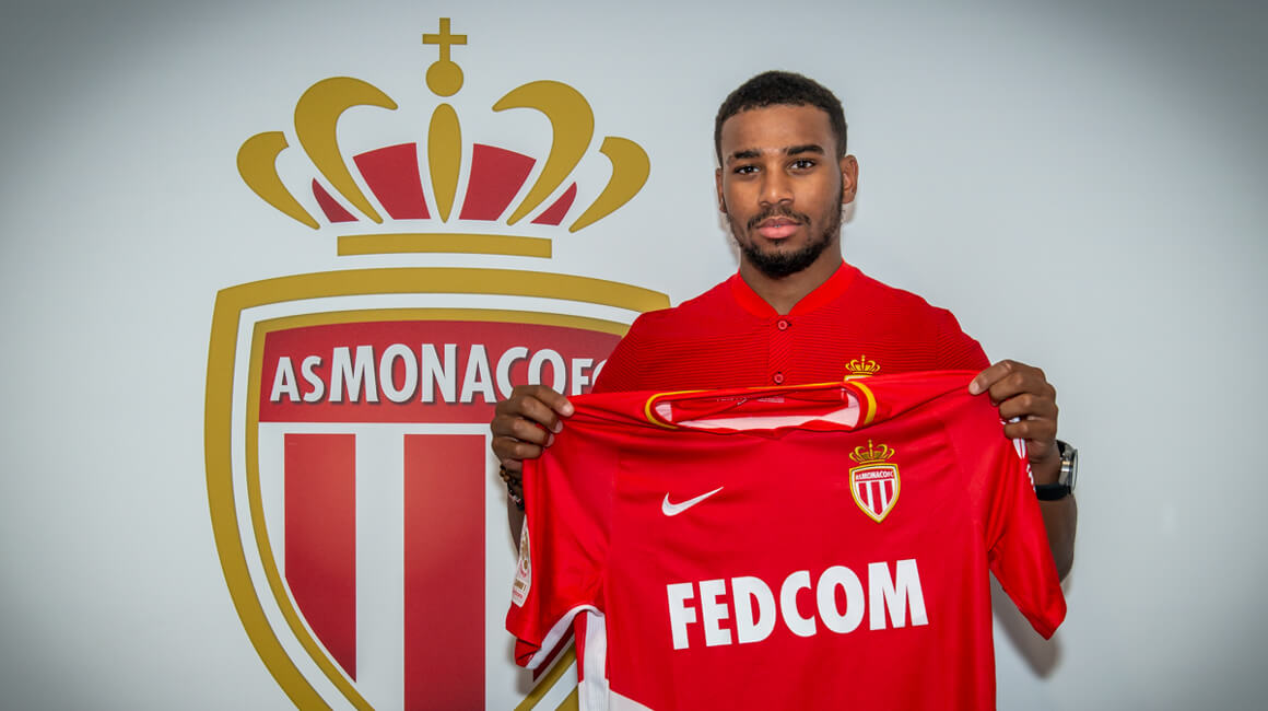 Samuel Grandsir no AS Monaco