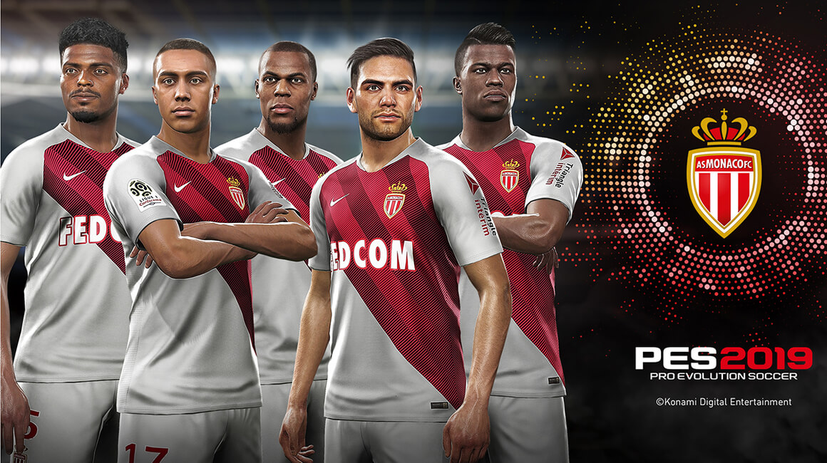 AS Monaco announces official partnership with Konami