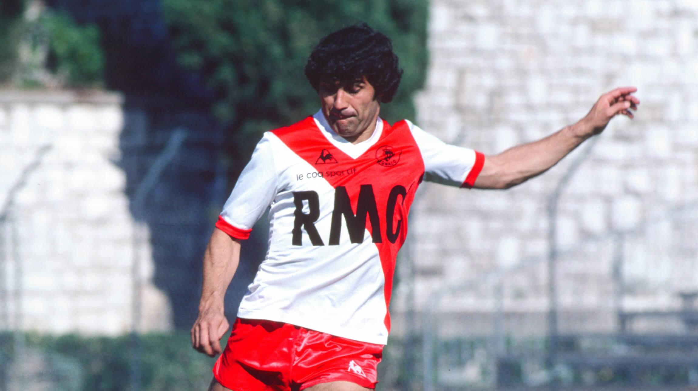 Delio Onnis, el máximo goleador histórico del AS Monaco