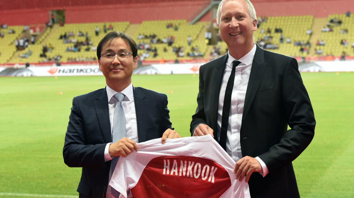 Hankook devient partenaire de l'AS Monaco