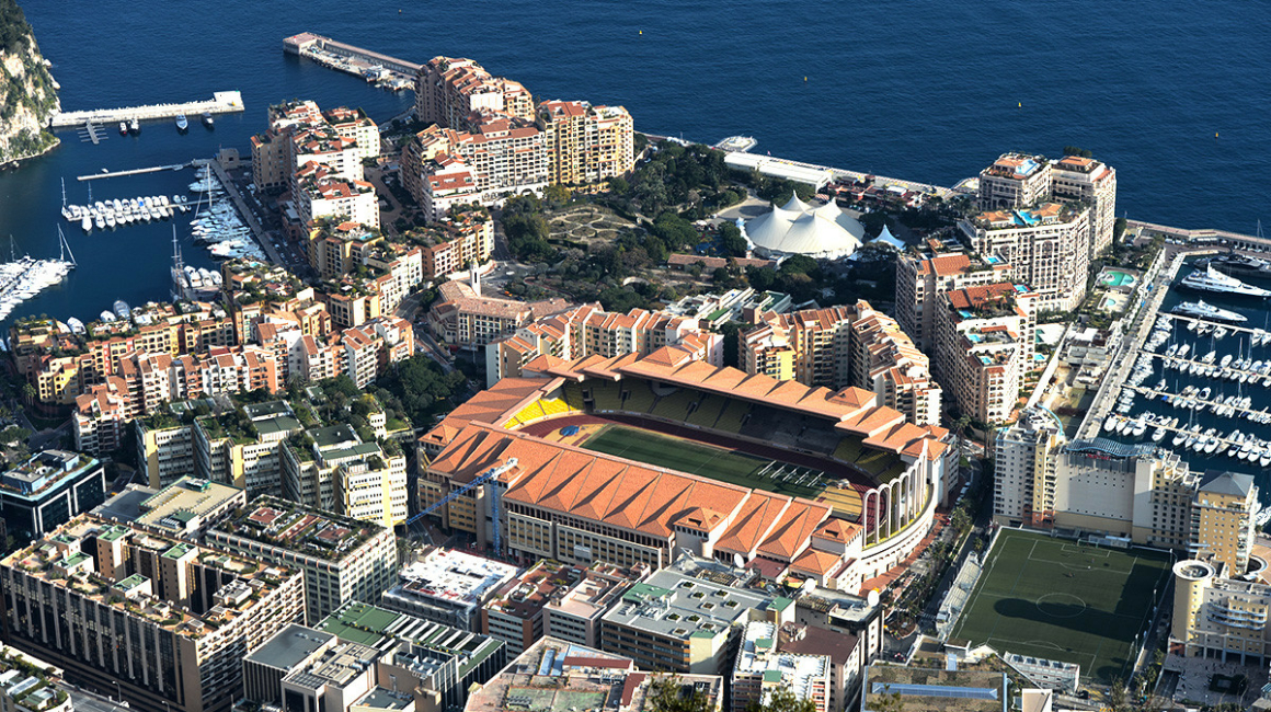 Presentation of the Stade Louis II