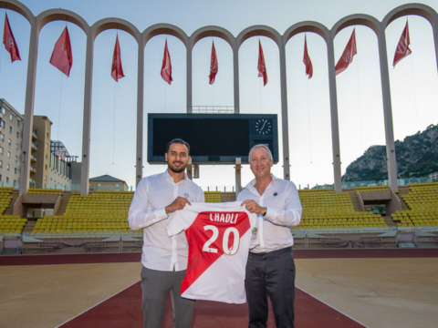 Nacer Chadli no AS Monaco