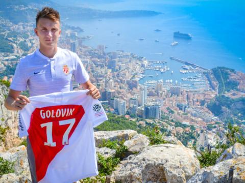 Aleksandr Golovin joins AS Monaco