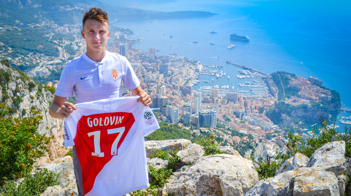 Aleksandr Golovin à l'AS Monaco