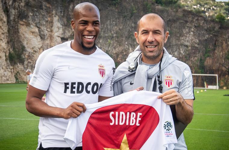 Djibril Sidibé e o AS Monaco serão homenageados