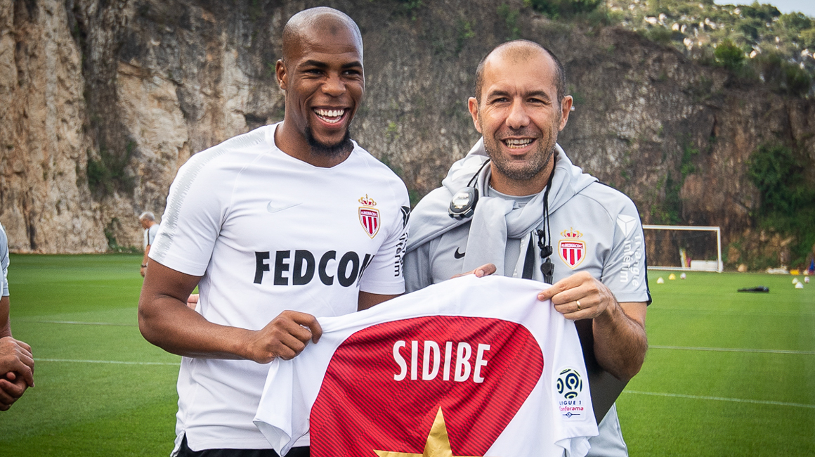 Djibril Sidibé and AS Monaco honored