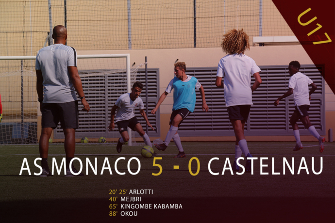 U17 : AS Monaco 5-0 Castelnau