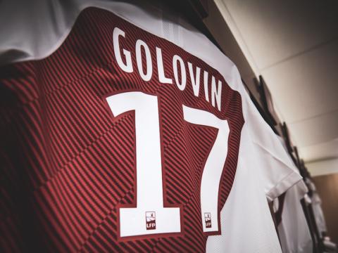 COMPO : Golovin titulaire