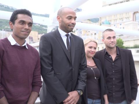 Les abonnés Premium rencontrent Thierry Henry