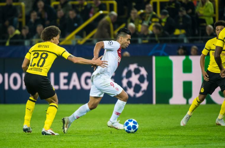 AS Monaco x Dortmund em números