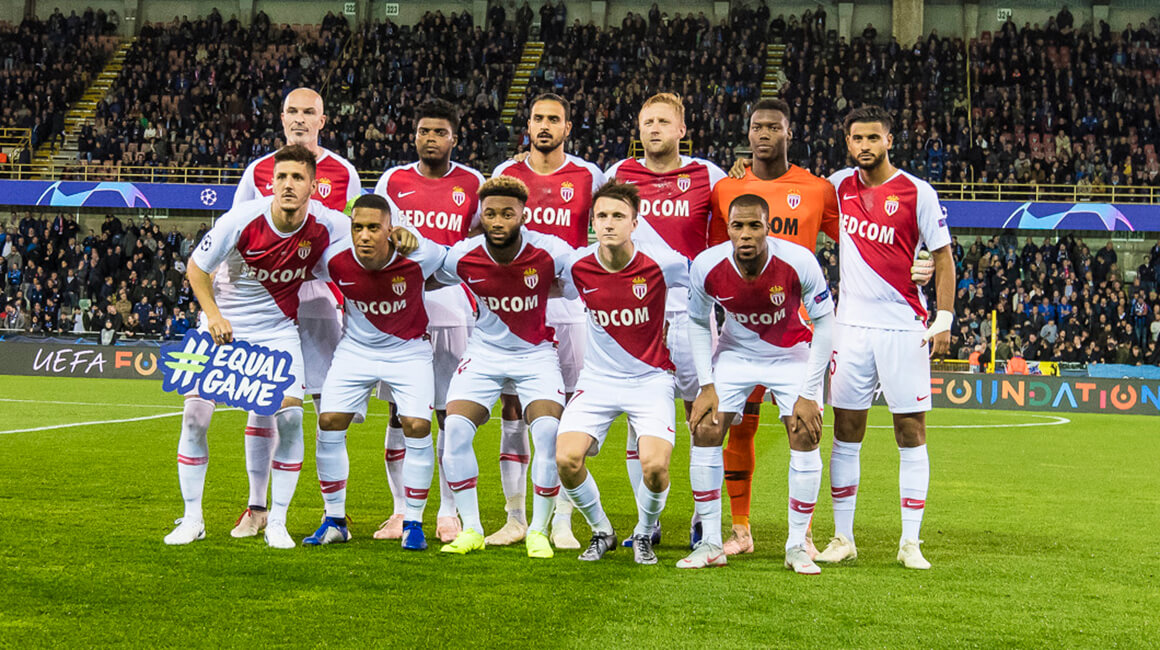 L'AS Monaco solidaire d'Equal Game