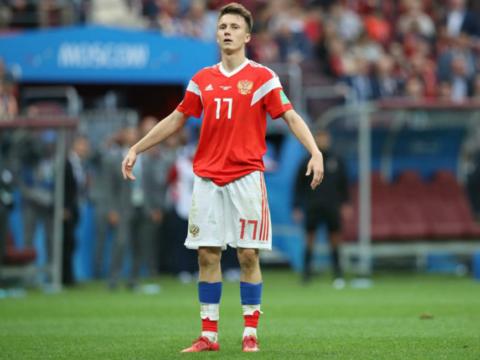 Empate para a Russia de Golovin contra a Suécia