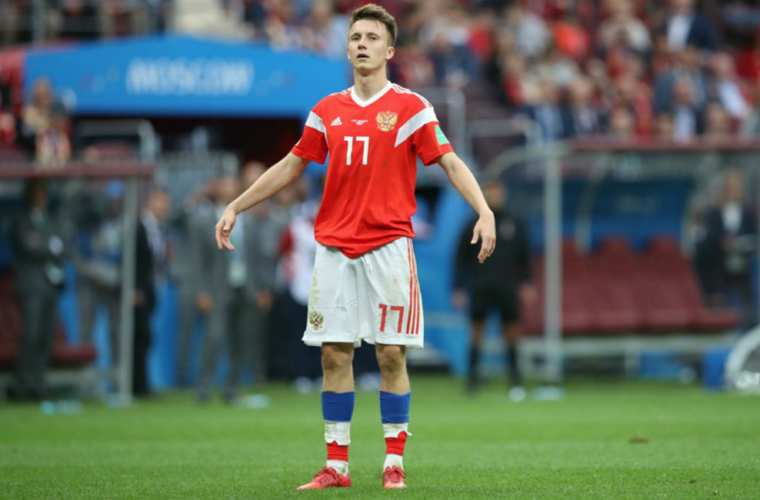 A draw for Sweden against Golovin's Russia