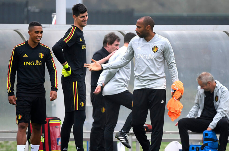 Thierry Henry começa uma nova etapa
