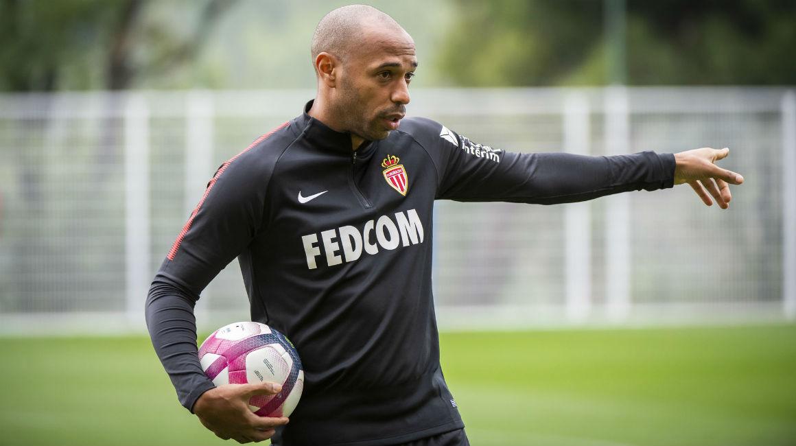 Premier entraînement pour Thierry Henry