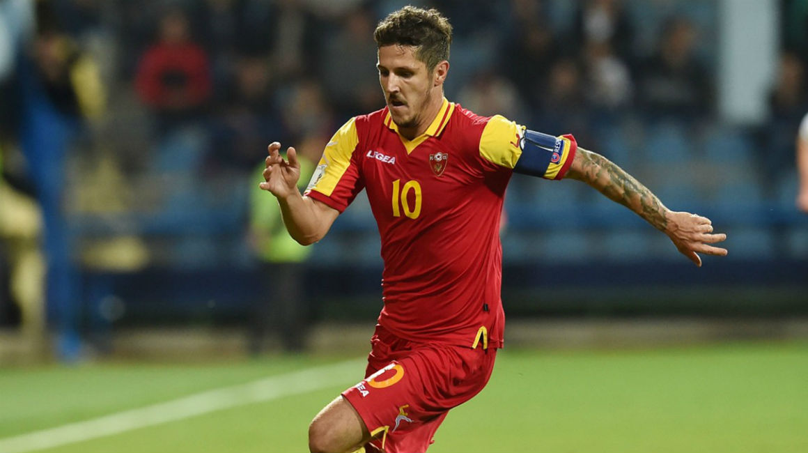 Jovetic et le Monténégro s'inclinent
