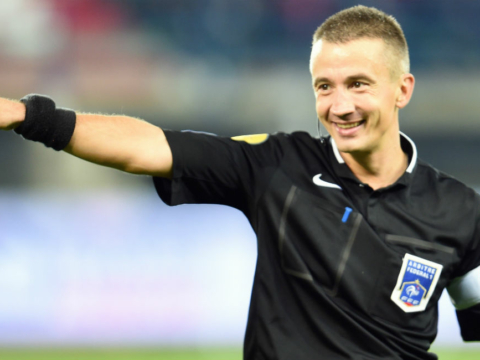 Jérôme Miguelgorry au sifflet contre Rennes