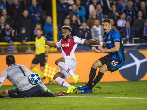 Le but de Moussa Sylla face à Bruges (1-1)