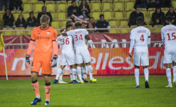AS Monaco - Dijon FCO (2-2)