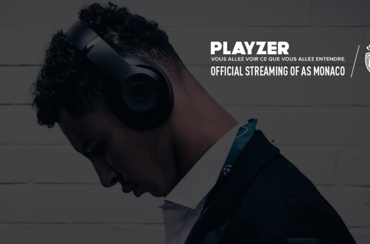 Playzer devient partenaire de l'AS Monaco