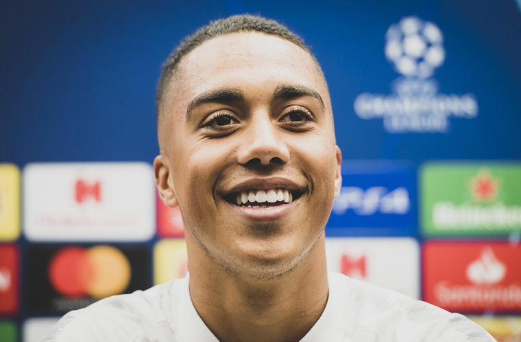 """Youri Tielemans: """"The coach already brings us a lot"""""""