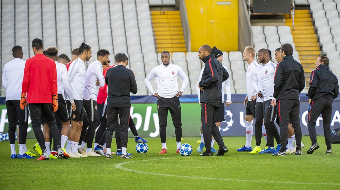 La dernière séance avant le Club Brugge