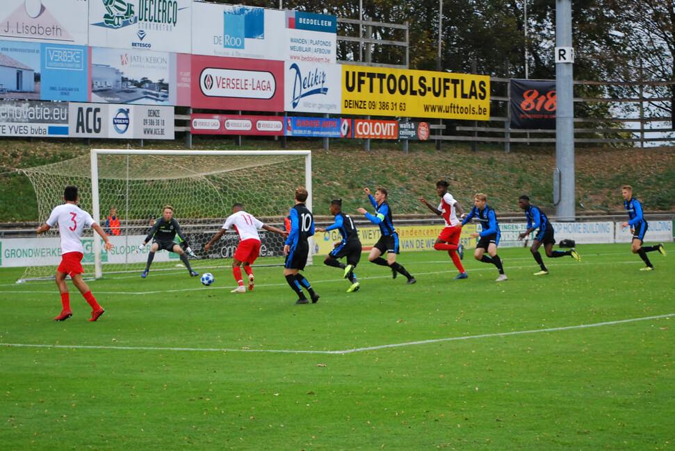 UEFA Youth League - Club Brugge 2-3 AS Monaco