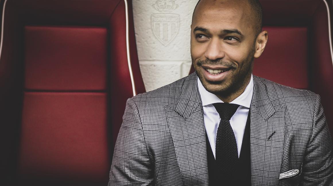 Thierry Henry nommé entraîneur de l'AS Monaco