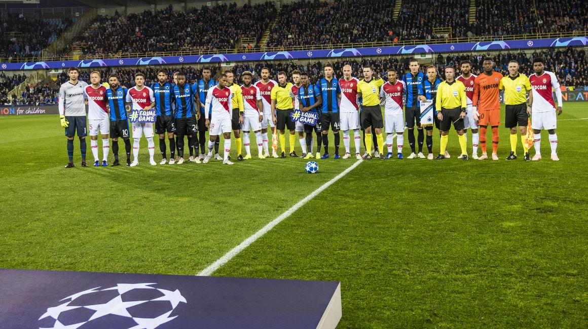 Le groupe du Club Brugge