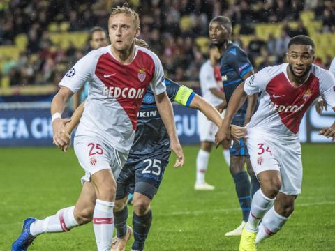 Отчёт: «Монако» 0:4 «Брюгге»