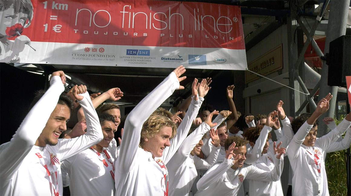 No Finish Line pour les U17