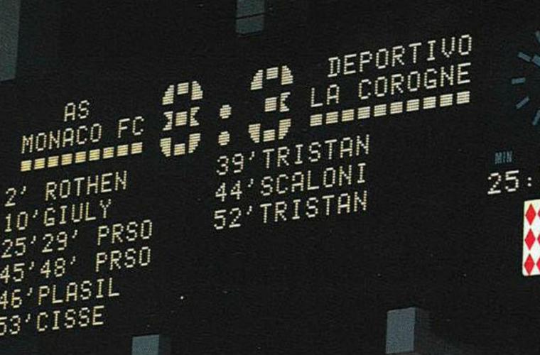 Souvenirs AS Monaco - La Corogne