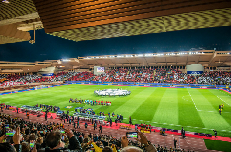 L'AS Monaco premier sur l'image