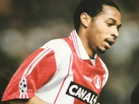 Thierry Henry, puro produto do AS Monaco