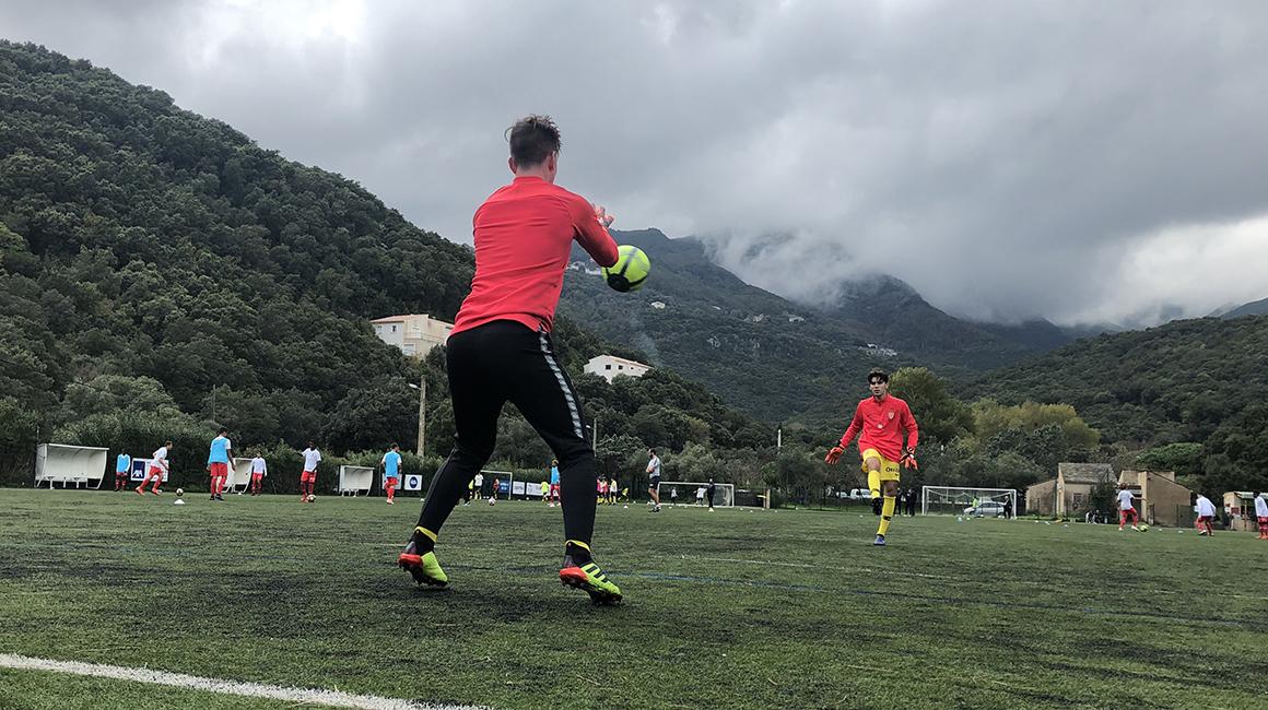 U17, les buts à Pieve di Lota