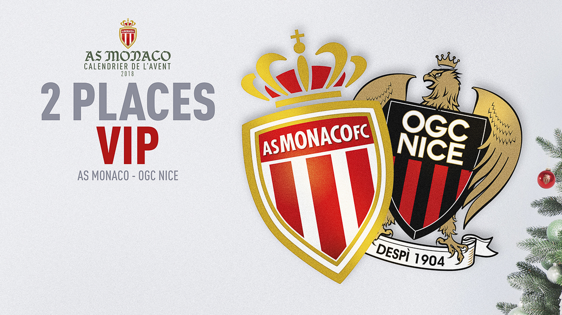 Gagnez vos places pour AS Monaco - Nice !