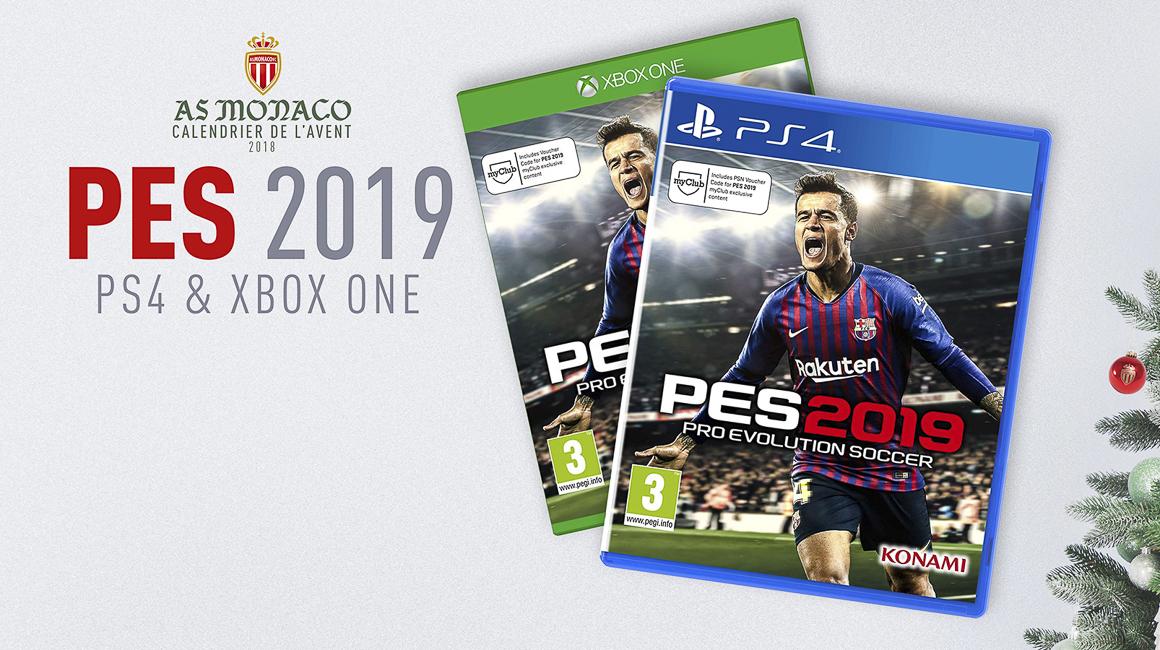 Gagnez un jeu PES 2019 !