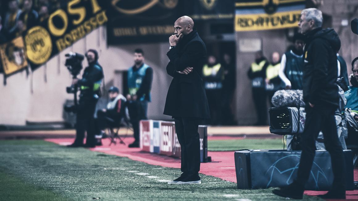LIVE : Conférence de presse de Thierry Henry après #ASMBVB