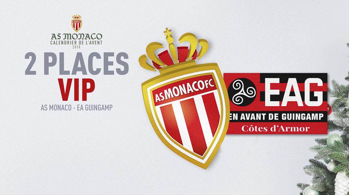 2 places pour AS Monaco - Guingamp à gagner !