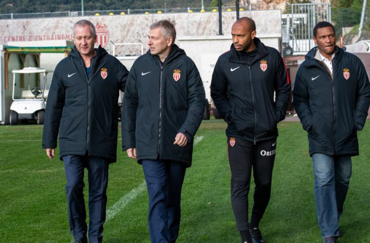 Dmitry Rybolovlev avec les Rouge et Blanc à La Turbie
