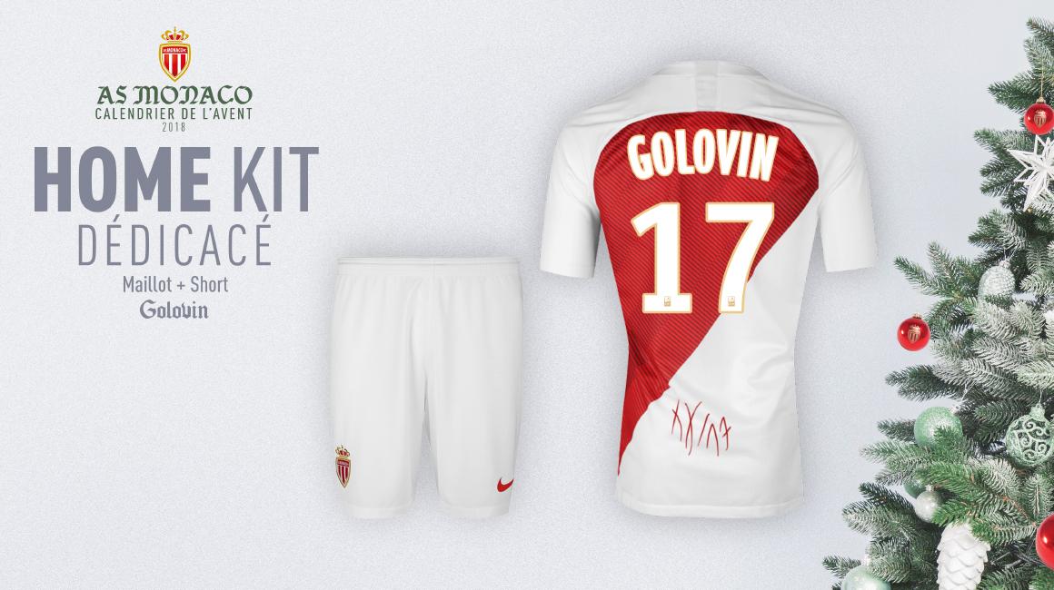 Gagnez votre maillot dédicacé de Golovin !