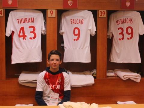 L'AS Monaco réalise le rêve de Marius
