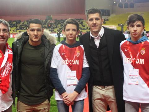AS Monaco helps Marius' dream come true