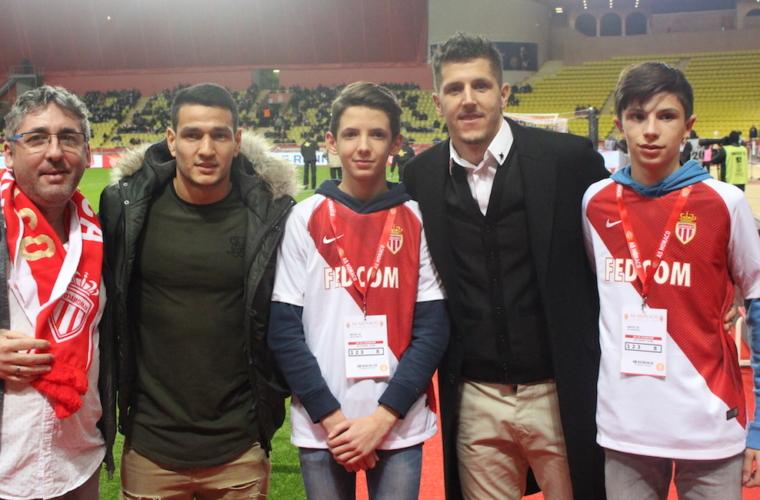 O AS Monaco realiza o sonho de Marius