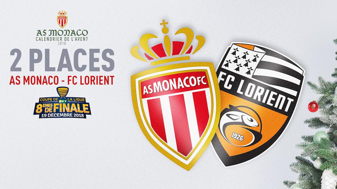 Gagnez deux places pour AS Monaco - Lorient !