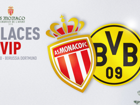 Gagnez vos places VIP pour AS Monaco - Dortmund !