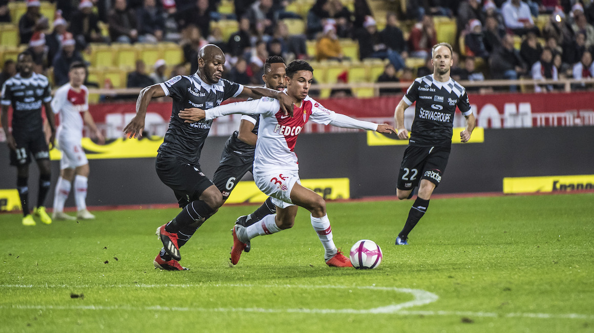 AS Monaco 0-2 EA Guingamp, le film du match