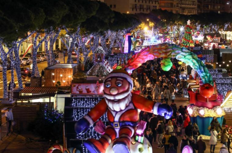 Ouverture du village de Noël de Monaco