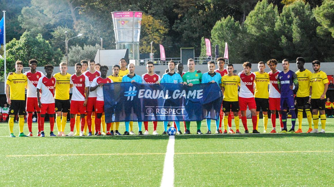 Youth League : L'AS Monaco et Dortmund se neutralisent