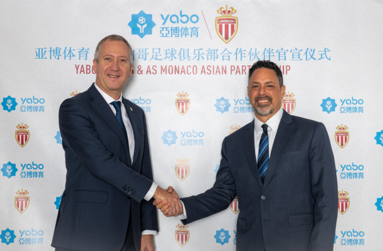 Yabo Sport, premier «regional partner» de l'AS Monaco en Asie